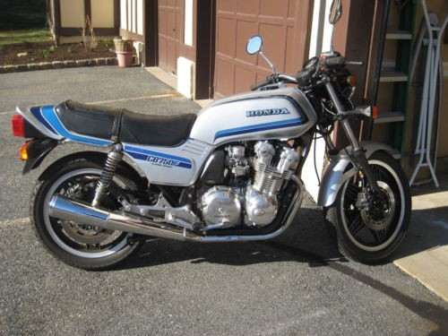 1981 Honda CB750F Silver for sale