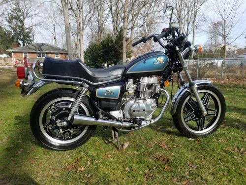 1981 Honda CM400C Blue for sale craigslist