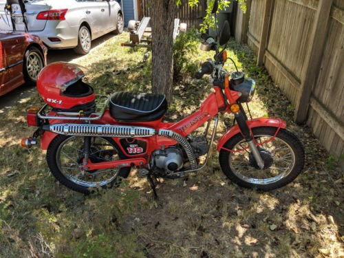 1981 Honda CT Red for sale