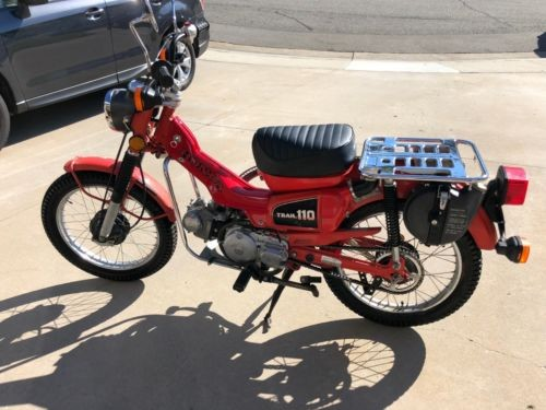 1981 Honda CT Red craigslist