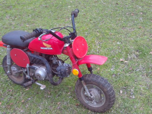 1981 Honda Other Red photo