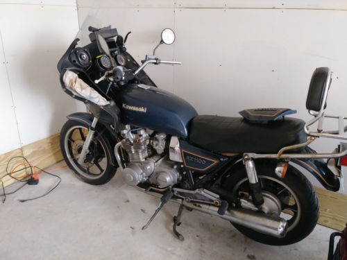 1981 Kawasaki Other Blue photo