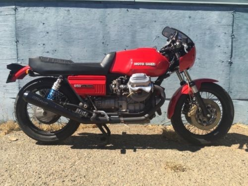 1981 Moto Guzzi Lemans cx100 Red craigslist