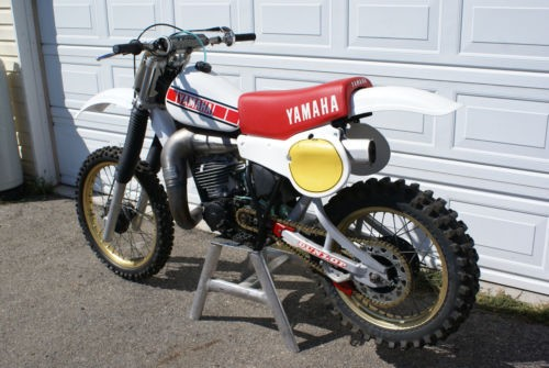 1981 Yamaha YZ White photo