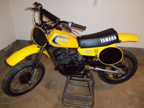 1981 Yamaha YZ Yellow for sale craigslist
