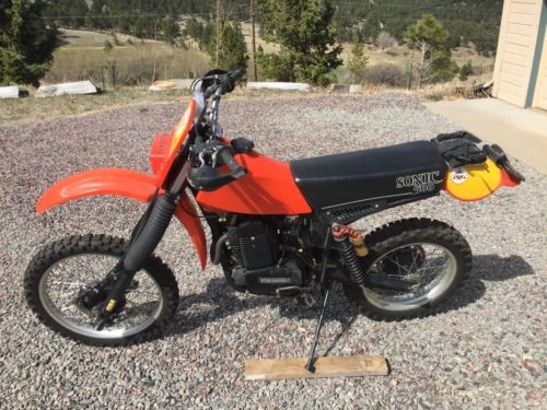 1982 Can-Am Sonic 500 Orange for sale