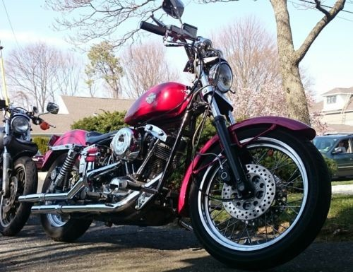 1982 Harley-Davidson FXE Red for sale craigslist