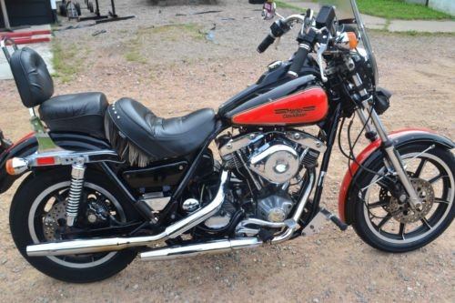 1982 Harley-Davidson Other Black photo