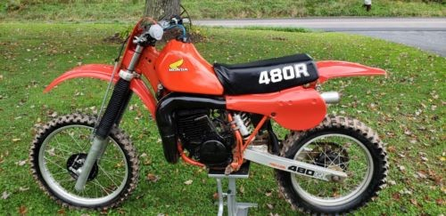 1982 Honda CR Red photo