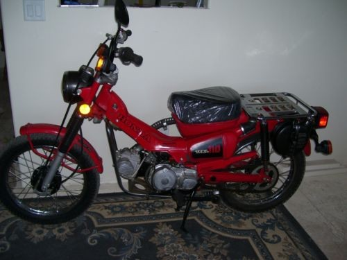 1982 Honda CT Red photo