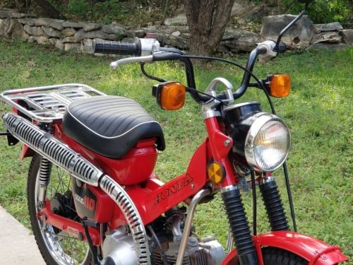 1982 Honda CT red for sale craigslist