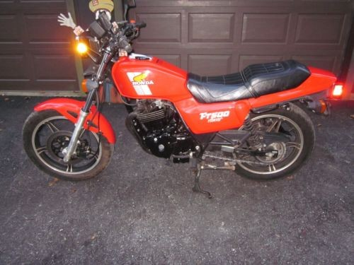 1982 Honda FT500  photo