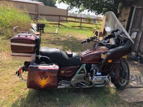 1982 Honda Goldwing 1100 Burgundy for sale craigslist