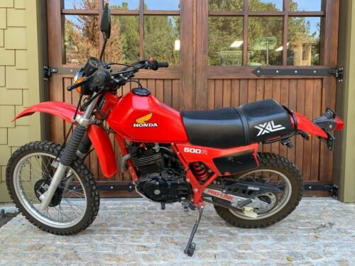 1982 Honda Honda Red photo