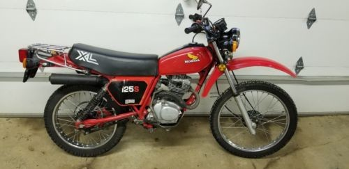 1982 Honda XL125S Red for sale craigslist