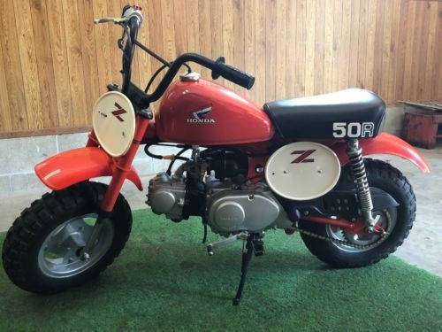 1982 Honda Z50R 50cc Sport Bike Orange for sale