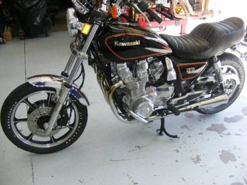 1982 Kawasaki KZ 1000 LTD Black for sale craigslist