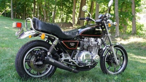 1982 Kawasaki KZ1000 LTD Black With Red Striping, ORIGINAL for sale