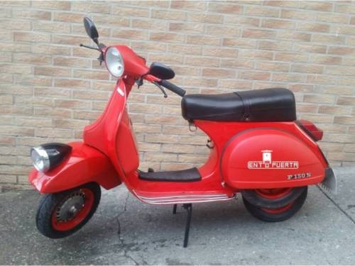 1982 Other Makes Vespa Scooter Red for sale