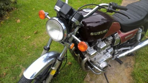 1982 Suzuki GS Burgundy photo
