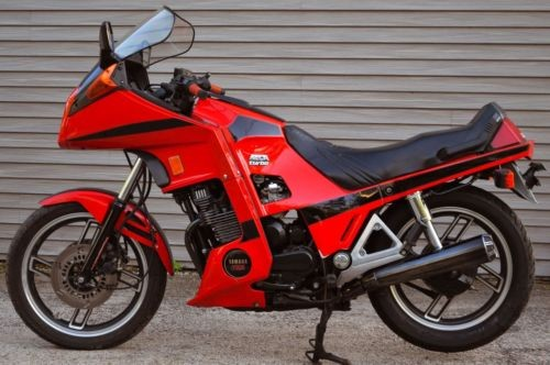 1982 Yamaha XJ650-LJ SECA TURBO 650 Orange photo
