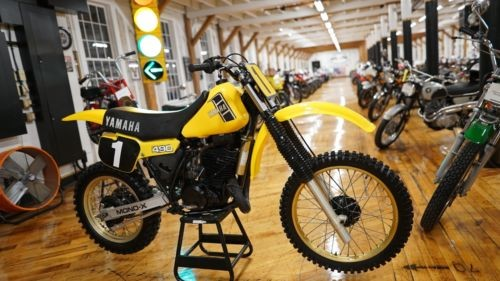 1982 Yamaha YZ Yellow photo
