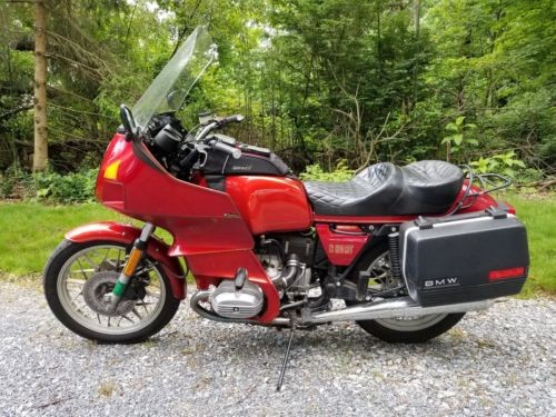 1983 BMW R-Series Red photo