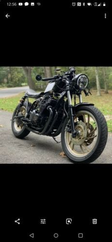 1983 Custom Built Motorcycles Other Black photo