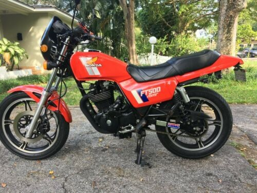 1983 Honda FT500 Ascot Red for sale craigslist