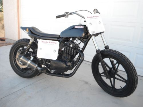 1983 Honda FT500 black photo
