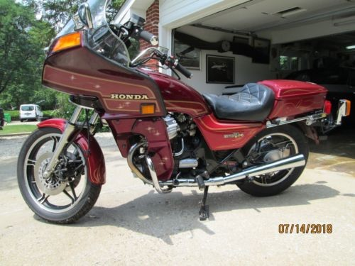 1983 Honda GL 650, silverwing interstate toreador red metalic, candy muse for sale craigslist