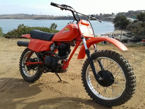 1983 Honda XR Red for sale