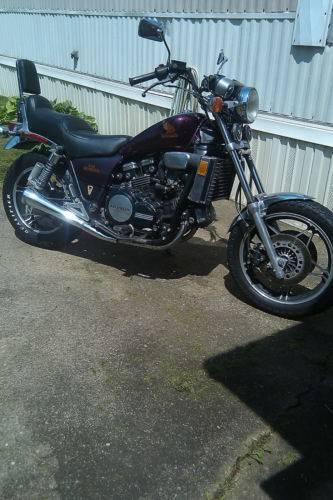 1983 Honda magna black cherry photo