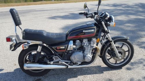 1983 Kawasaki KZ1100-A3 Black for sale craigslist