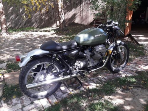 1983 Moto Guzzi 1000SP Green photo