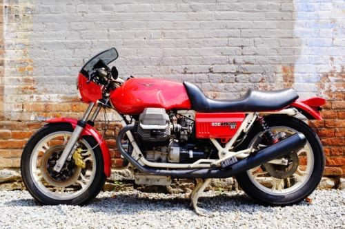1983 Moto Guzzi 850 LeMans iii Red photo