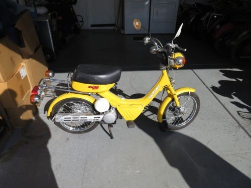 1983 Suzuki FA50 Yellow for sale