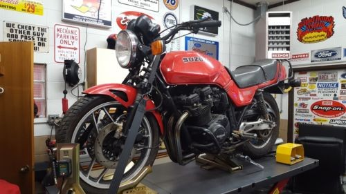 1983 Suzuki GS  photo