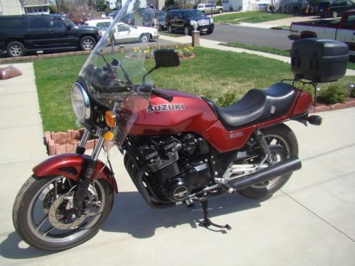 1983 Suzuki GS Burgundy for sale