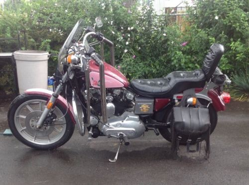 1984 Harley-Davidson Sportster Burgundy photo