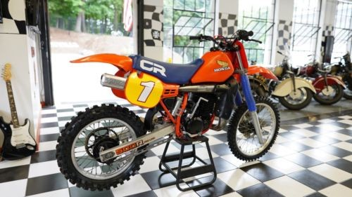 1984 Honda CR HRC RED photo