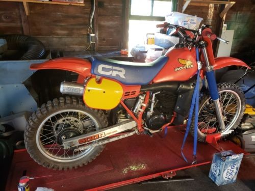 1984 Honda CR Red for sale
