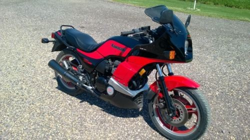 1984 Kawasaki GPZ 750 Turbo Red for sale craigslist