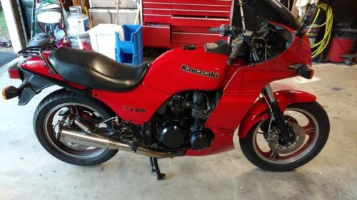 1984 Kawasaki GPZ Red for sale craigslist