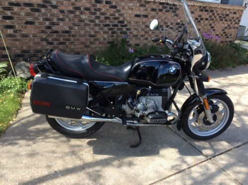 1985 BMW R-Series Black for sale