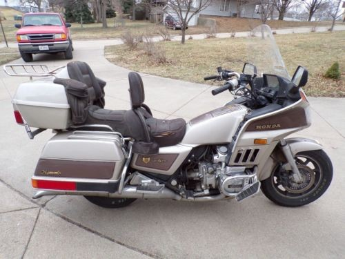1985 Honda Gold Wing Brown and Tan craigslist