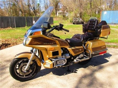 1985 Honda Gold Wing Limited Edition Gold craigslist