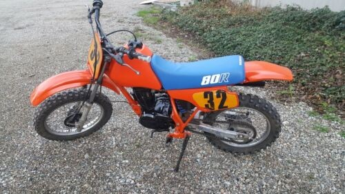 1985 Honda RT80 Orange photo