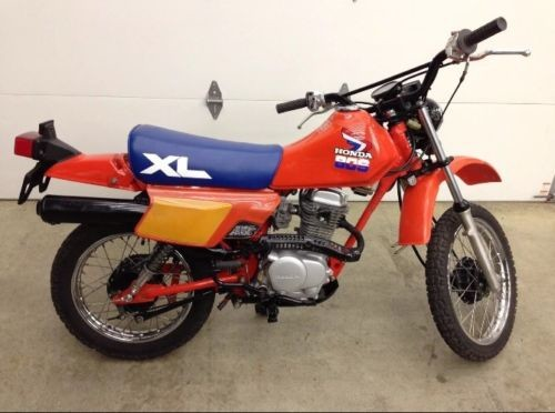1985 Honda XL-80S Orange for sale craigslist