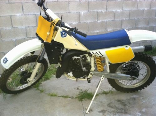 1985 Husqvarna XC125 white photo
